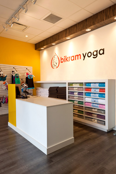 Bikram Yoga - Entrance